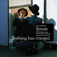 David Bowie-nothing has changed (the Best of David Bowie) 2 CD NEUF