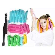 Hot Long 55cm*2.5cm Magic Ringlet Hair Curlers Curlformers Spiral Rollers
