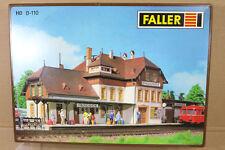FALLER B-110 HO SCALE FRIEDRICHSHOHE COUNTRY RAILWAY STATION BAHNHOF ni