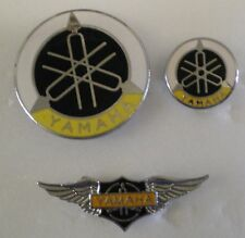 3 x MotorCYCLE MotorBIKE Enamel Lapel Pin Badges Lot 1Y BIKERS