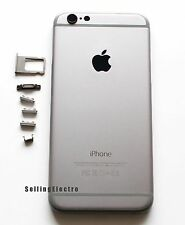 Space Gray Back Housing Battery Cover Mid Frame Replacement for iPhone 6 4.7""