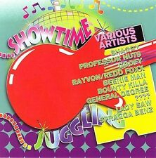SHOWTIME JUGGLING-Beenie Man-SHAGGY-Lady Saw-RAYVON-Cd