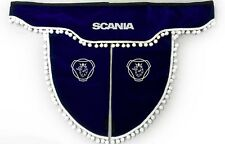 Curtain Set Truck Lorry Scania [Truck Accessories and Curtains], Blue