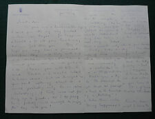 Princess Margarita of Greece and Denmark Signed Letter 1959 Death of Archduchess