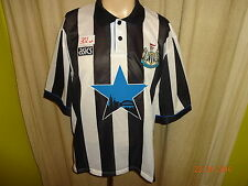 "Newcastle United Original asics Heim Trikot 1993-1995 ""Stern Sympol"" Gr.XXL TOP"