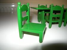EX COND VINTAGE RETRO 1980'S SYLVANIAN FAMILIES DINING FURNITURE