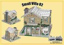 LEGO custom modular building instruction - Small Villa 02