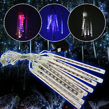 20/30/50cm Meteor Shower Falling Star Icicle Snow Fall LED Warm White Lighting