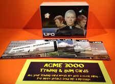 Gerry Anderson UFO - Cards Inc - Full 100 Card Basic Set + Extra Promos & Packet