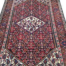"""Authentic Semi Antique Persian senne Senneh Area Rug  4'7"""" x 7'"""