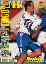 FRANCE - RUGBY MAN No 57 1997 OFFICIAL FFR MAGAZINE FOR THE YOUNGER READER
