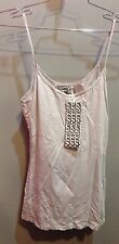 $34 NWT Groceries Brand Solid Gray Basic Tank Top Size S
