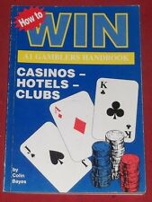 A1 GAMBLERS HANDBOOK ~ HOW TO WIN ~ CASINOS HOTELS CLUBS