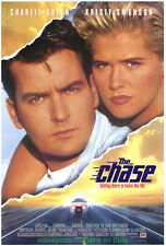 THE CHASE MOVIE POSTER Original SS 27x40 CHARLIE SHEEN KRISTY SWANSON