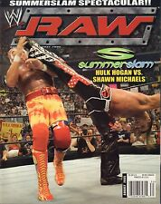 WWE Raw August 2005 Hulk Hogan, Shawn Michaels VG 032916DBE
