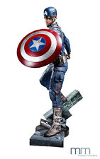 MUCKLE OXMOX LIFE SIZE FIGUR CAPTAIN AMERICA WINTER SOLDIER MARVEL NEU OVP