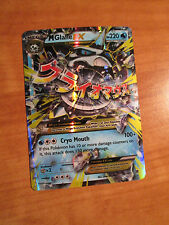 NM MEGA Pokemon M GLALIE EX Card BREAKTHROUGH Set 35/162 XY X and Y Ultra Rare