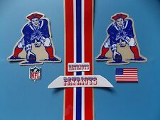 New England Patriots throwback helmet decals set