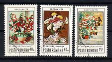 Rumänien Briefmarken 1979 Gemälde von St.Luchian Mi.Nr.3619-21