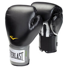 GUANTONI EVERLAST BLAK PRO STYLE TRAINING MMA BOXING IT BOXE PUGILATO KICKBOXING