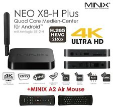 MINIX NEO X8-H PLUS +A2 Android 4.4 Quad Core 4K2K UHD Smart TV Box Mini PC