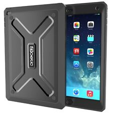 Black Poetic Revolution Armor Built-In Screen Protector For iPad Air 2