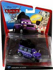Kimura Kaizo Disney Pixar Cars 2 Oversize Deluxe Die Cast Toy Car Japanese New