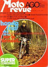 MOTO REVUE 2158 HONDA 125 Elsimore HUSQVARNA 250 400 Cross Giacomo Agostini 1974