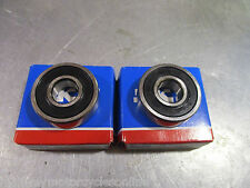 DERBI CROSSCITY CROSS CITY REAR WHEEL BEARINGS PAIR JAP QUALITY ALL MODELS
