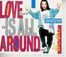 D.J.BOBO - LOVE IS ALL AROUND - CD MAXI SINGLE