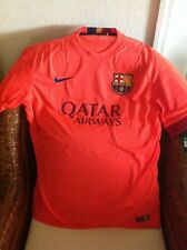 Nike Authentic Barcelona  Soccer/fútbol Shirt/Jersey New With Tags Size M Mens