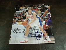 AARON WILLIAMS AUTOGRAPHED CLIPPERS 8X10 PHOTO W/COA