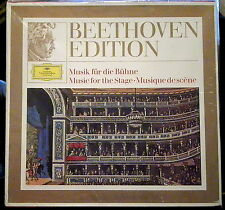 Beethoven; Music for the Stage  3 lps   Deutsche Grammophon