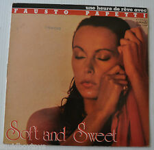 FAUSTO PAPETTI: Soft and Sweet LP Record Durium Sexy Cover