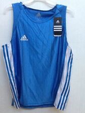 Adidas Amateur Boxing Tank Top Blue White M Medium NWT New