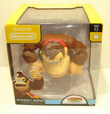 World of Nintendo DONKEY KONG Action Figure SEALED Jakks Pacific 6 Inch Deluxe