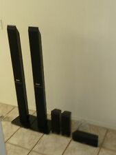 Panasonic SC-PT1050 5-pc Front/Center/Surround Speakers, HC950, HF1050, HS1050