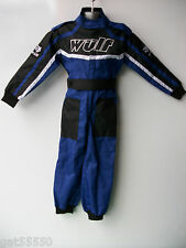 NEW AGE 5-6 BLUE WULFSPORT BOYS KIDS OFF ROAD OUTDOOR PLAY SUIT QUAD OVERALLS