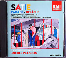Michel PLASSON: SATIE Parade Relache Gymnopedie Gnossienne Le Piccadilly CD 1988
