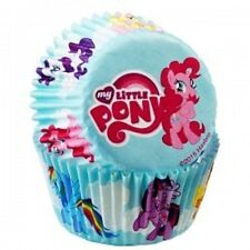 NEW MY LITTLE PONY GIRLS BAKING CUPS CUPCAKE LINERS MUFFIN BIRTHDAY PARTY 50