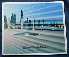 Maserati Quattroporte 2003 Prospekt Brochure M31/03 Depliant no book buch press