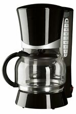 Continental Electric Black 10-Cup Permanent Filter Pause And Serve Coffee Maker