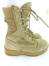 WELLCO DESERT HOT WEATHER FLIGHT & COMBAT VEHICLE BOOTS SIZE 5.5 W