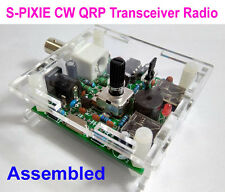 Assembled S-PIXIE CW QRP Ham Amateur Shortwave Radio Transceiver 7.023Mhz + Case