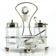 MENAGE Gewürzstreuer Salzstreuer Ölflasche Pfefferstreuer für Küche u. Esstisch