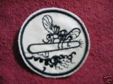 ORIGINAL UNISSUED EARLY WW II WHITE PATROL TORPEDO (PT) / MOSQUITO BOAT PATCH
