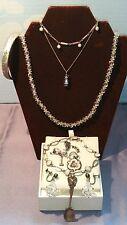 Lot of 10 Sterling Silver Jewelry 925 Necklace, Earrings, Bracelet Moonstone