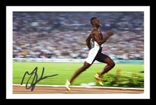MICHAEL JOHNSON AUTOGRAPHED SIGNED & FRAMED PP POSTER PHOTO