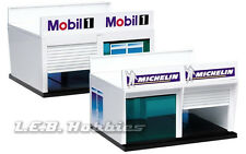 Carrera Pitstop Double Garage Building for 124 / 132 scale Slot Car Track 21104
