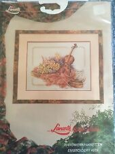 Lanarte Cross Stitch Kit Violin Music